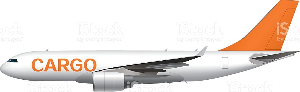 Cargo Plane stock vector art 537816877.