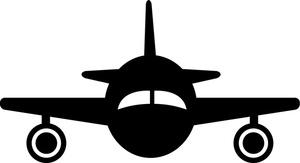 Military cargo plane clipart.