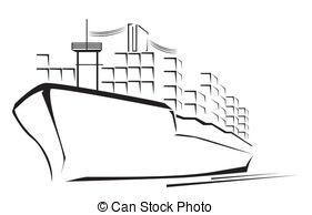 Cargo ship clipart - Clipground