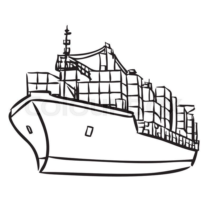 Collection of Cargo clipart.