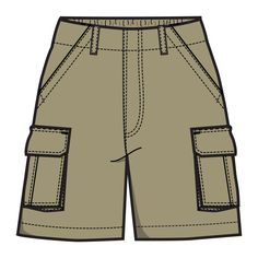 Cargo shorts clipart clipart images gallery for free.