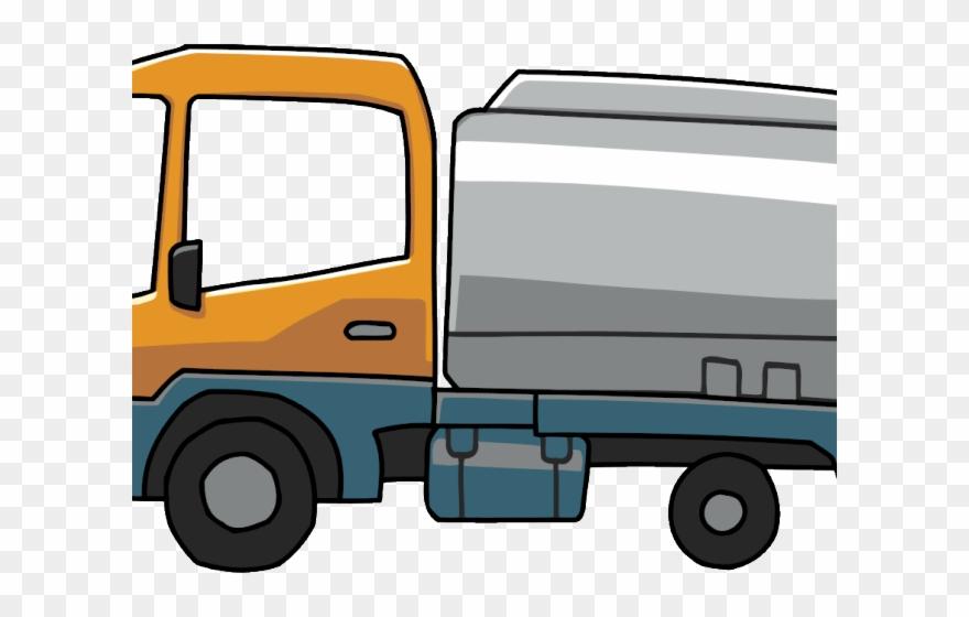 Cargo Truck Clipart Scribblenauts.