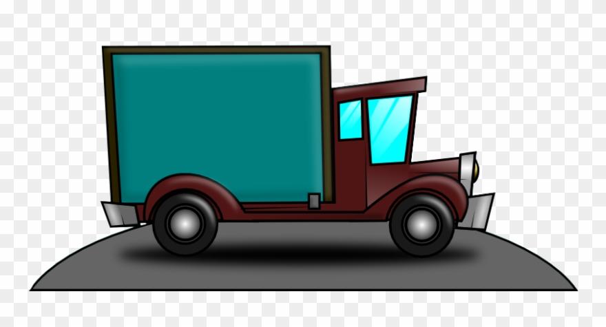 Truck Clipart Cargo Truck.