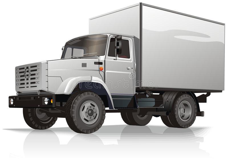 Cargo Truck Stock Illustrations.