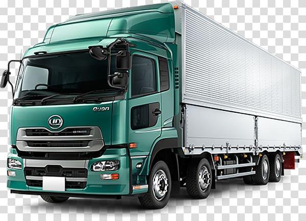 Car Nissan Diesel Quon Truck , Cargo Truck transparent background.