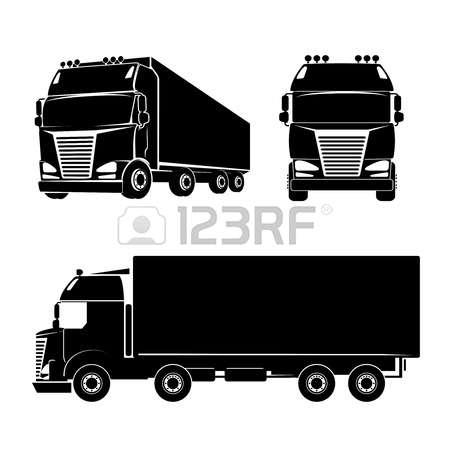 19+ Cargo Truck Clipart.
