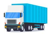 Long cargo truck transportation clipart » Clipart Portal.