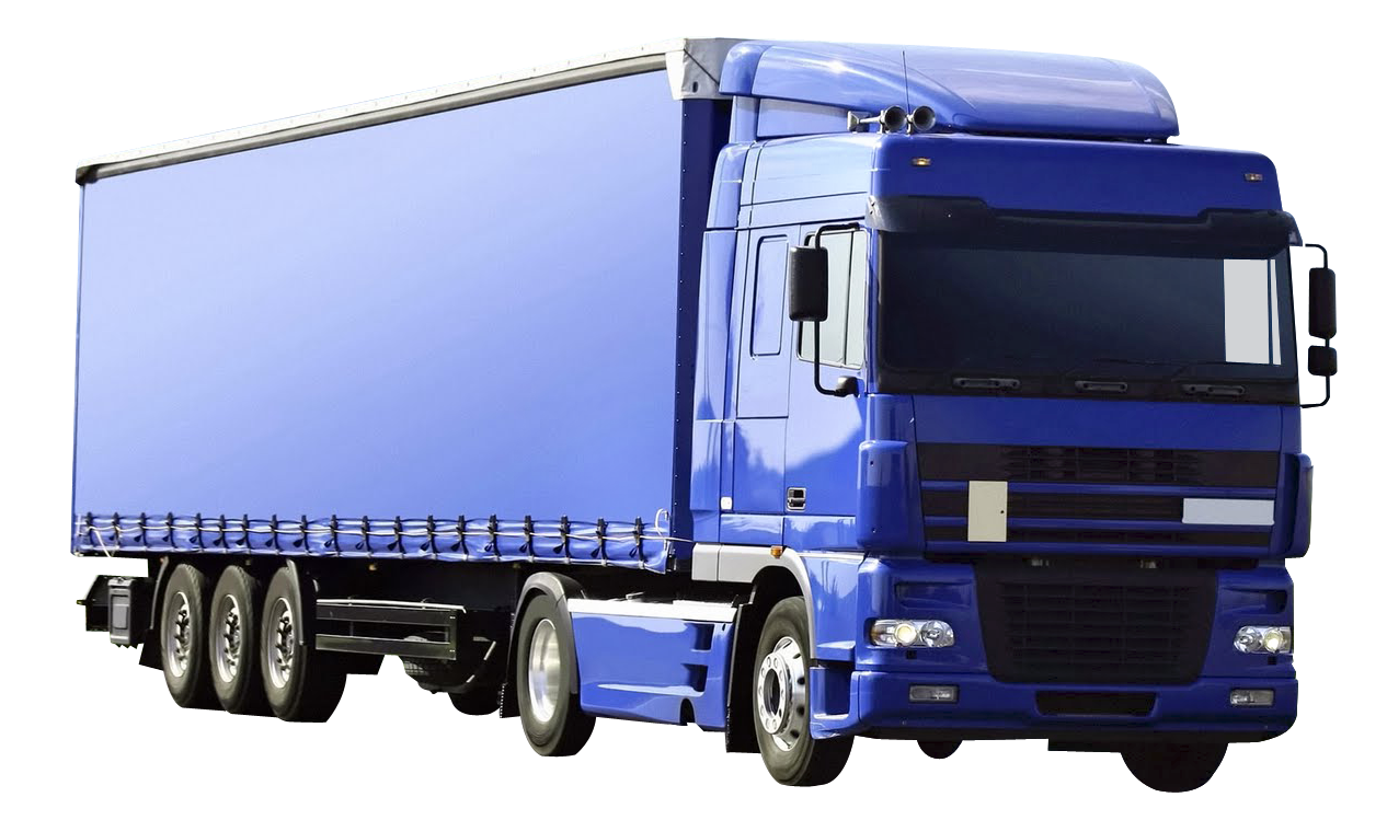Cargo Truck PNG Image.