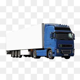Pull Cargo Truck, Truck, Heavy Truck, Bi #19636.
