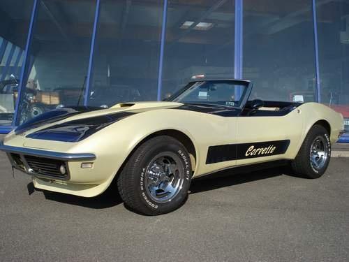 1968 Chevrolet Corvette.