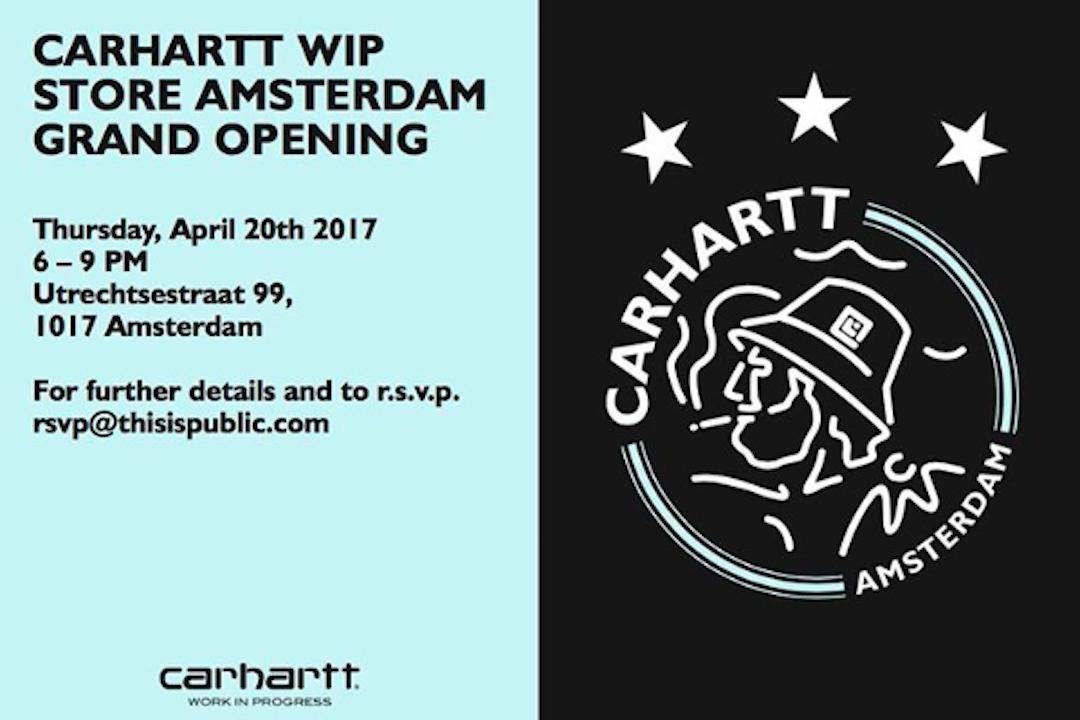 Carhartt WIP celebrates Axaj with a commemorative jersey.