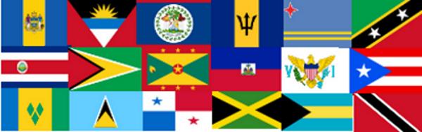 Caribbean Flags.