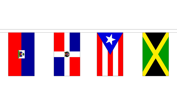 Caribbean Nations Bunting.