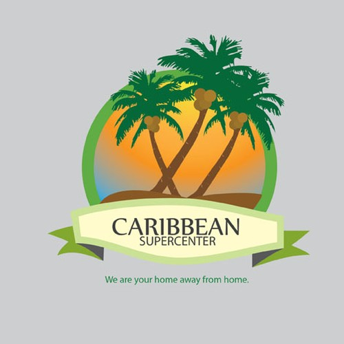 Help CARIBBEAN SUPERCENTER with a new logo.