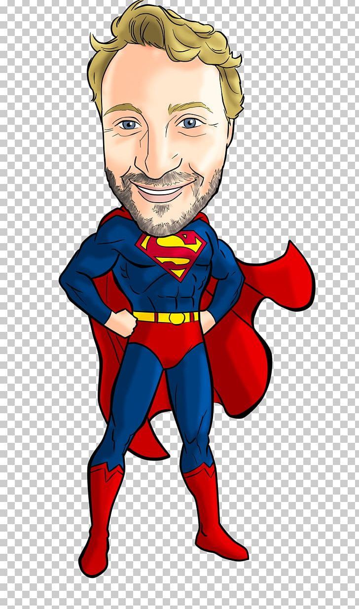 Superman Superhero Caricature Cartoon YouTube PNG, Clipart, Art.