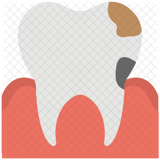 Dental Caries Icon.