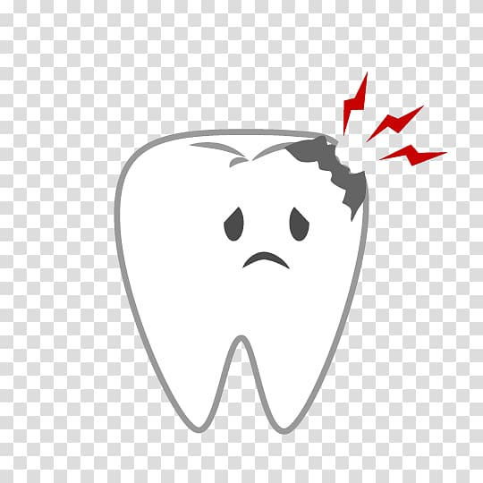 Dentist Tooth decay , dental caries transparent background PNG.