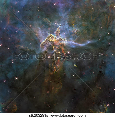 Stock Images of Carina Nebula Star.