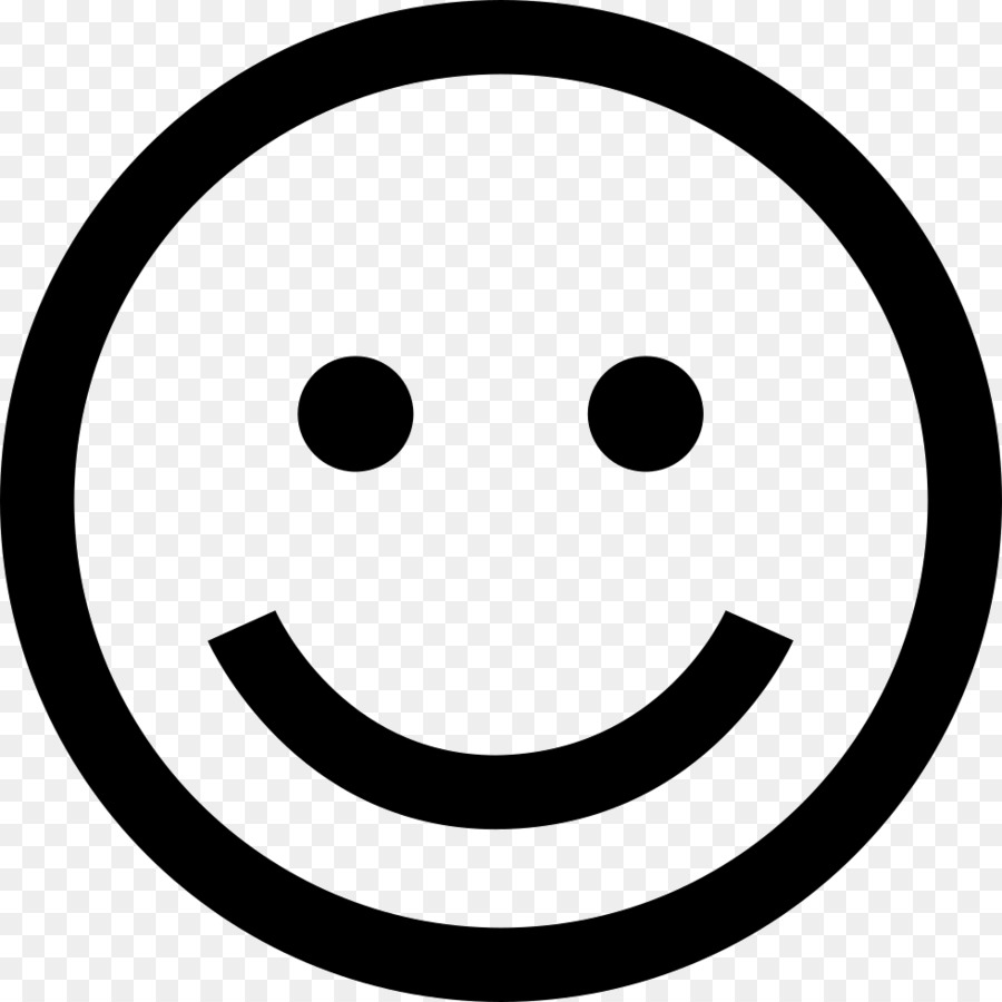Emoji Black And White png download.