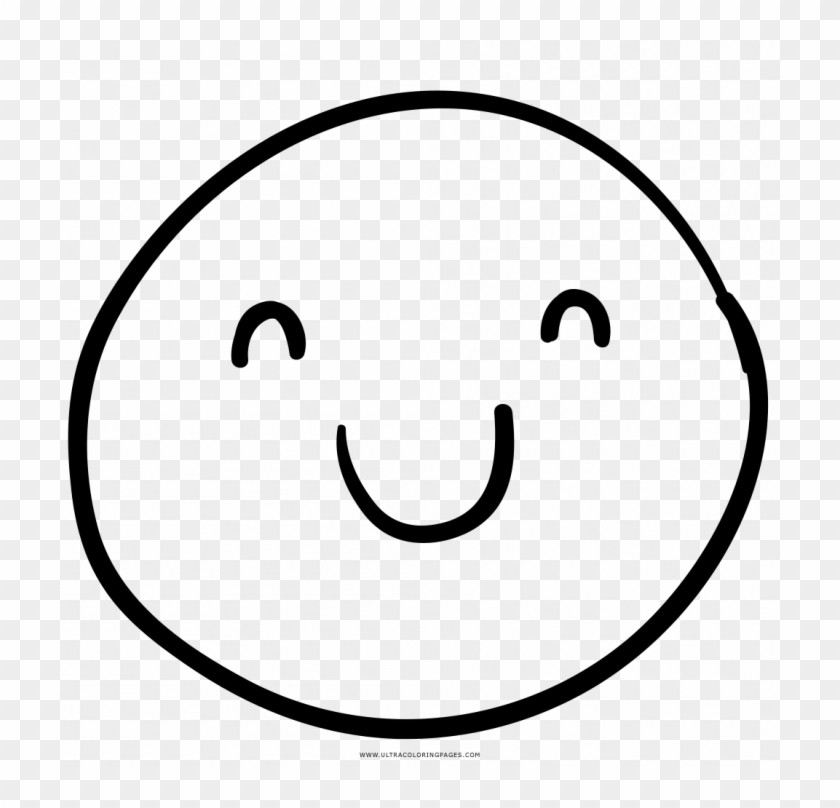 Happy Face Coloring Pages.
