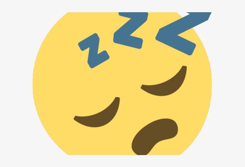 Emoji Face Clipart Sleeping.