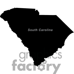 South carolina clip art.