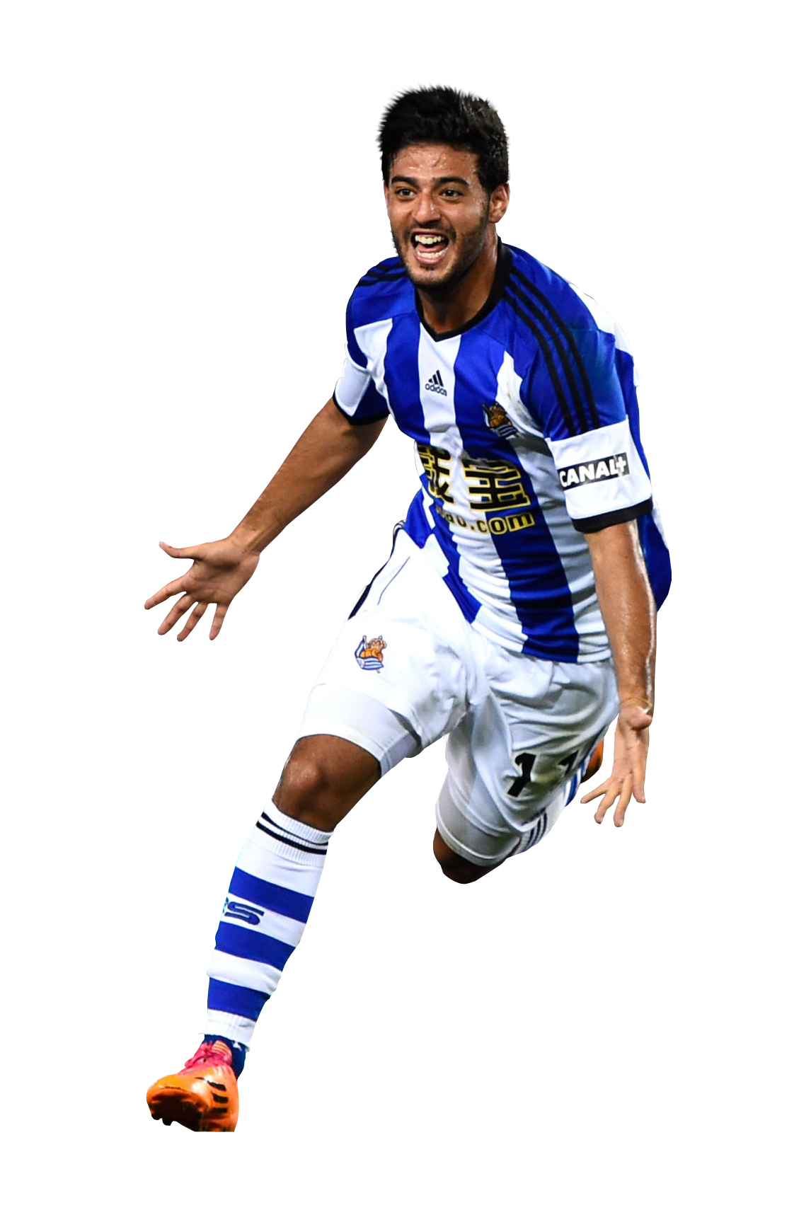 Carlos Vela of Real Sociedad.