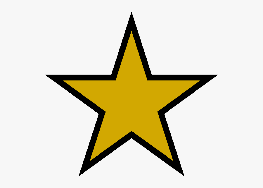 Transparent Military Star Clipart.