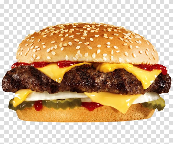 Hamburger Whopper Cheeseburger Fast food Carls Jr., Tasty.