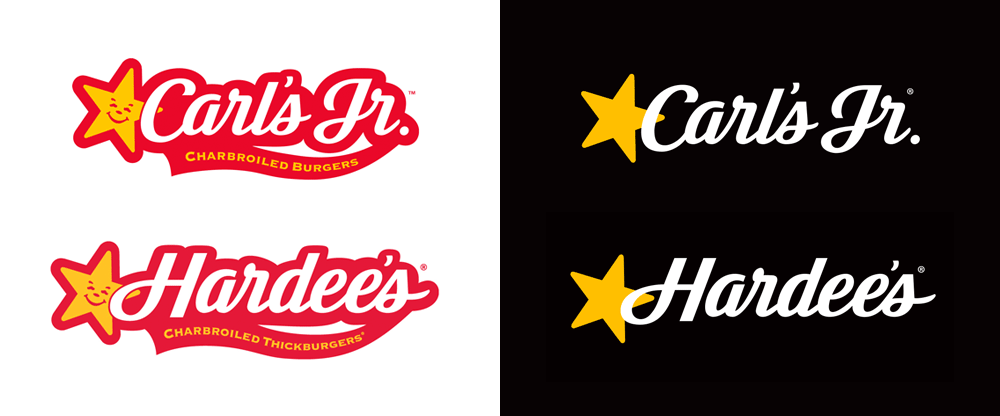 Brand New: New Logo and Identity for Carl's Jr. and Hardee's by.