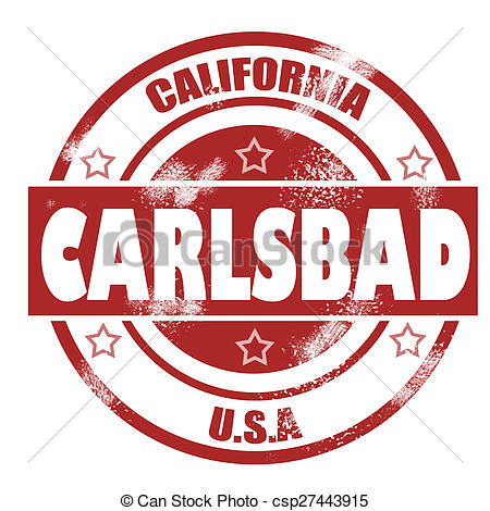 Carlsbad clipart.