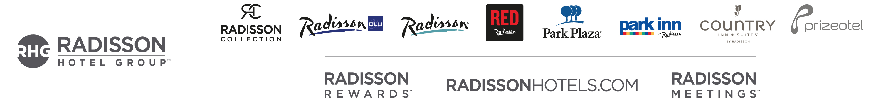 The 'brand equity' of Radisson behind Carlson Rezidor Hotel Group.