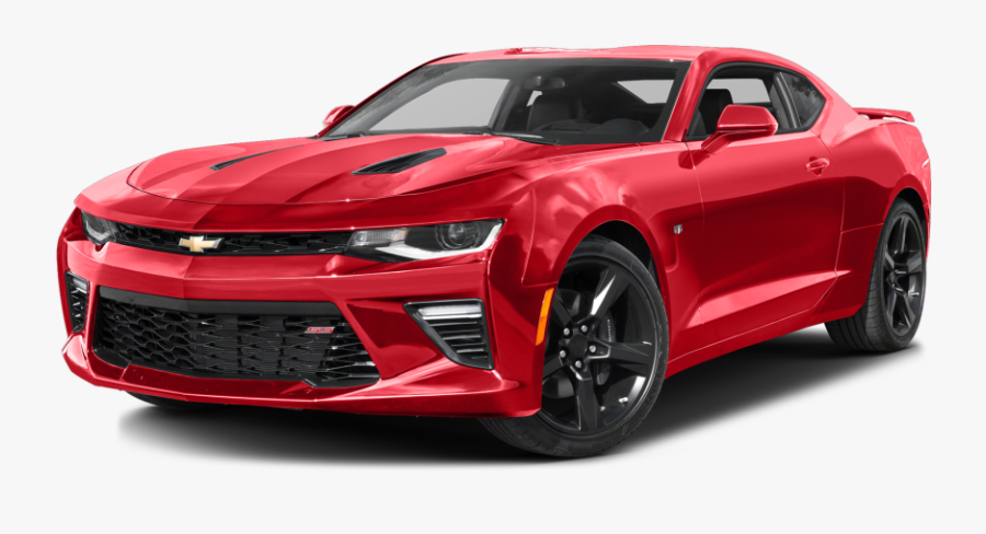 Red Camaro Car Clipart.