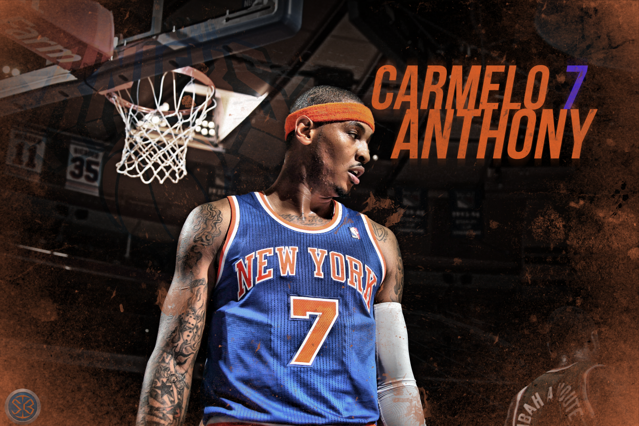 Carmelo anthony hd clipart.