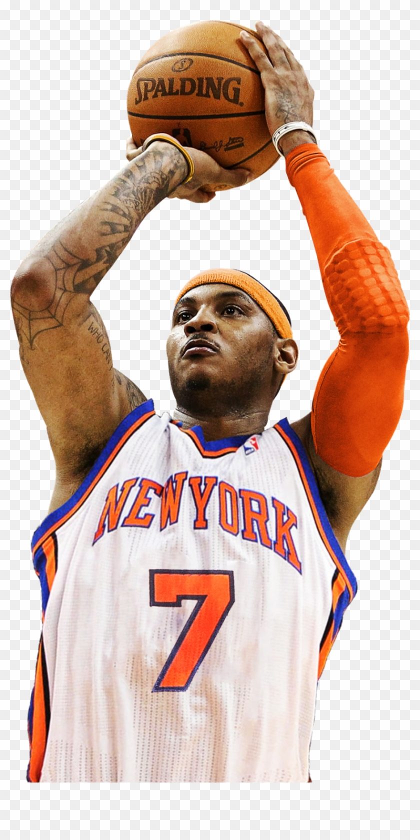 Carmelo Anthony New York Knicks, HD Png Download (#652695), Free.