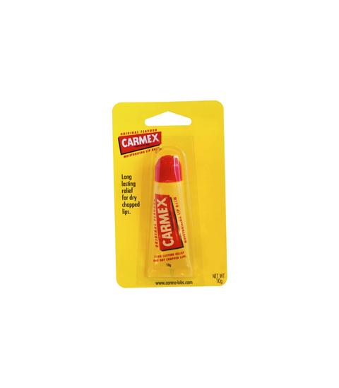 Carmex Lip Balm.