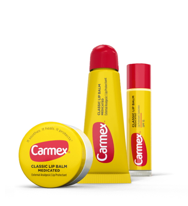Carmex Classic Lip Balm.