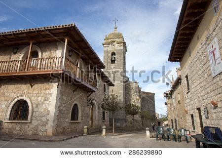 Road To Santiago De Compostela Stock Photos, Royalty.