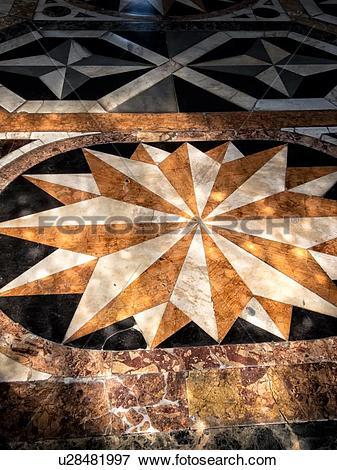 Picture of Scuola Grande dei Carmini: detail of exquisite inlaid.
