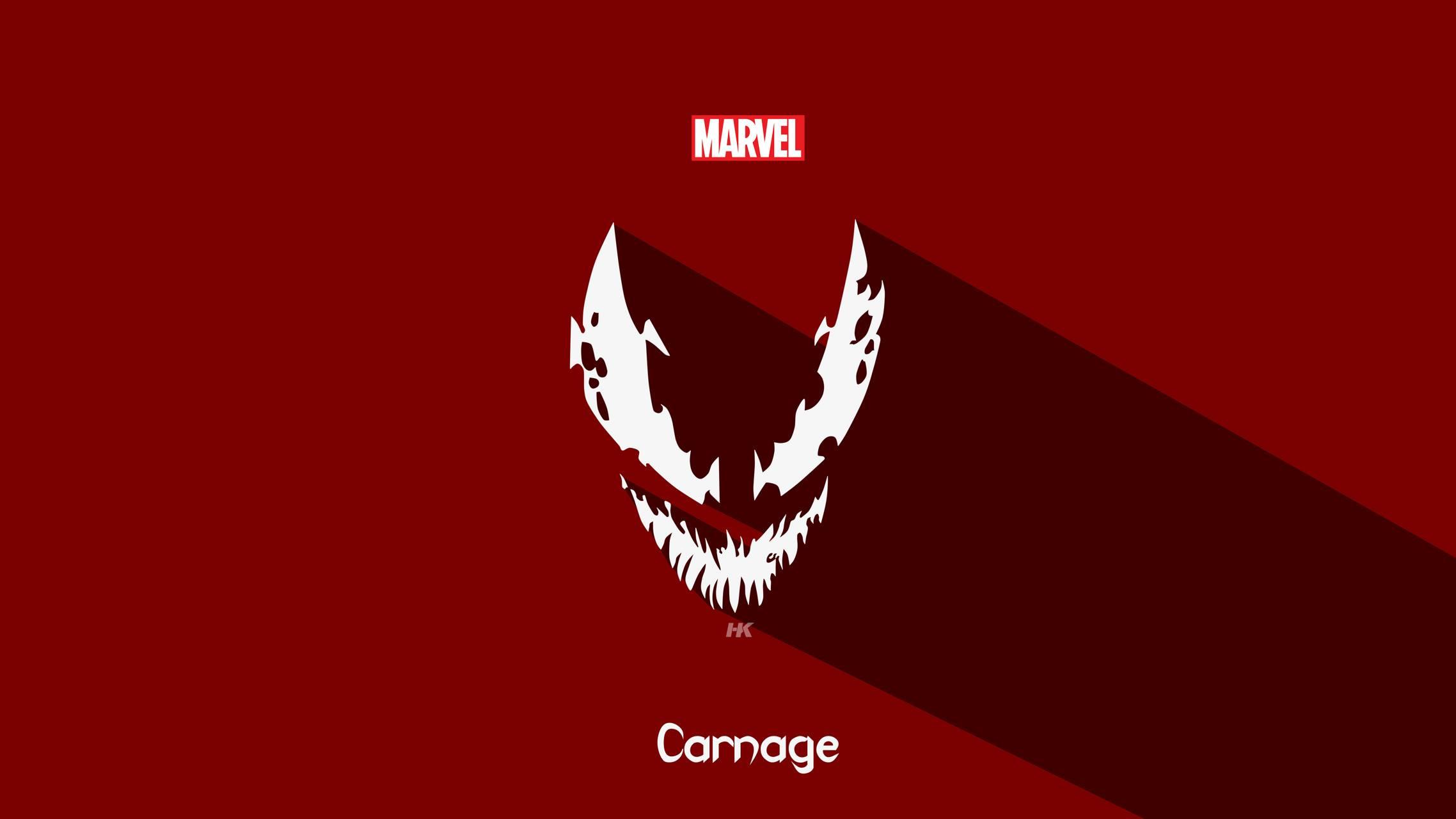 Marvel Carnage wallpaper by HKartworks.