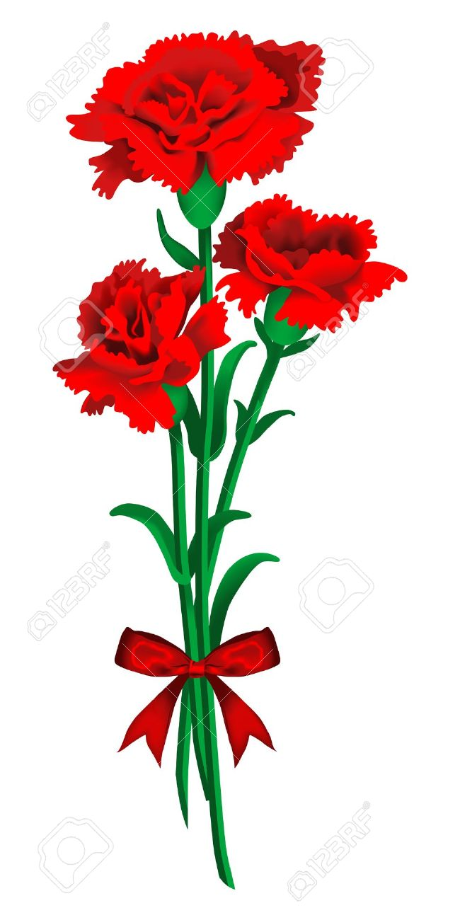 red carnations clipart clipground carnations clip art black white carnation clipart images