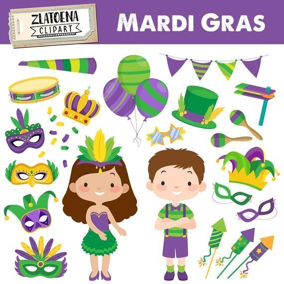 Mardi Gras clipart Mardi Gras Festival Clipart Carnaval.