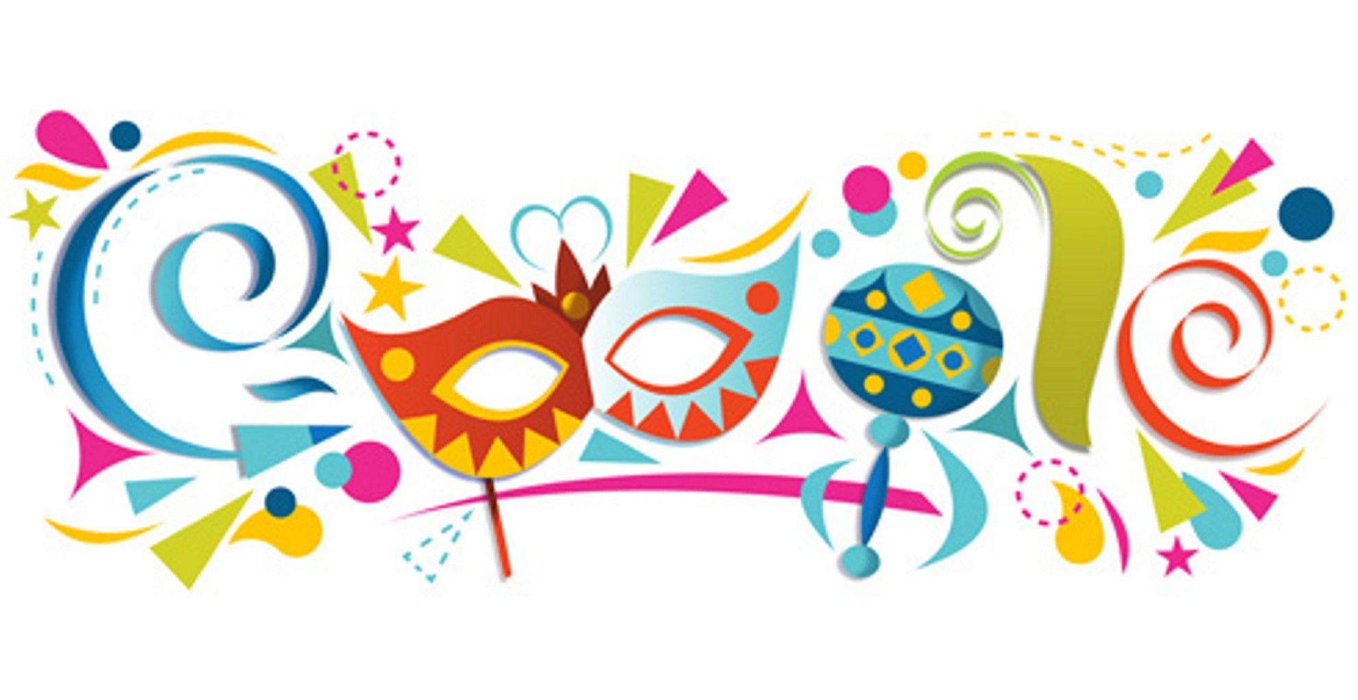 Carnaval de Barranquilla Google Doodle in 2019.