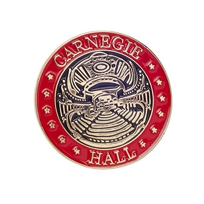 Carnegie Hall Lapel Pin.