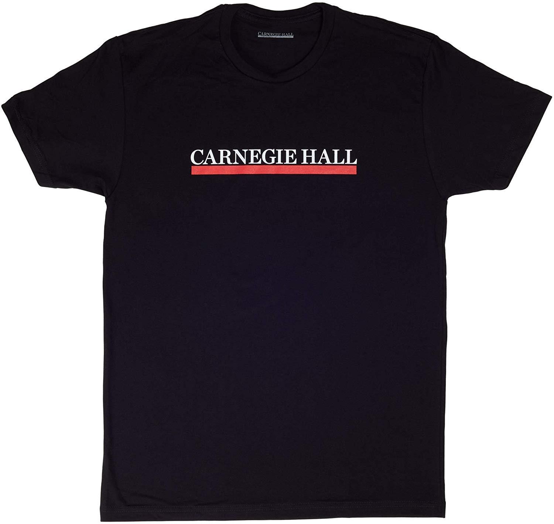 Carnegie Hall Logo Short Sleeve Tee Shirt.