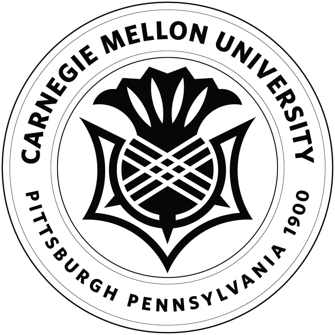 CMU Logo and Seal [Carnegie Mellon University] Download Vector.