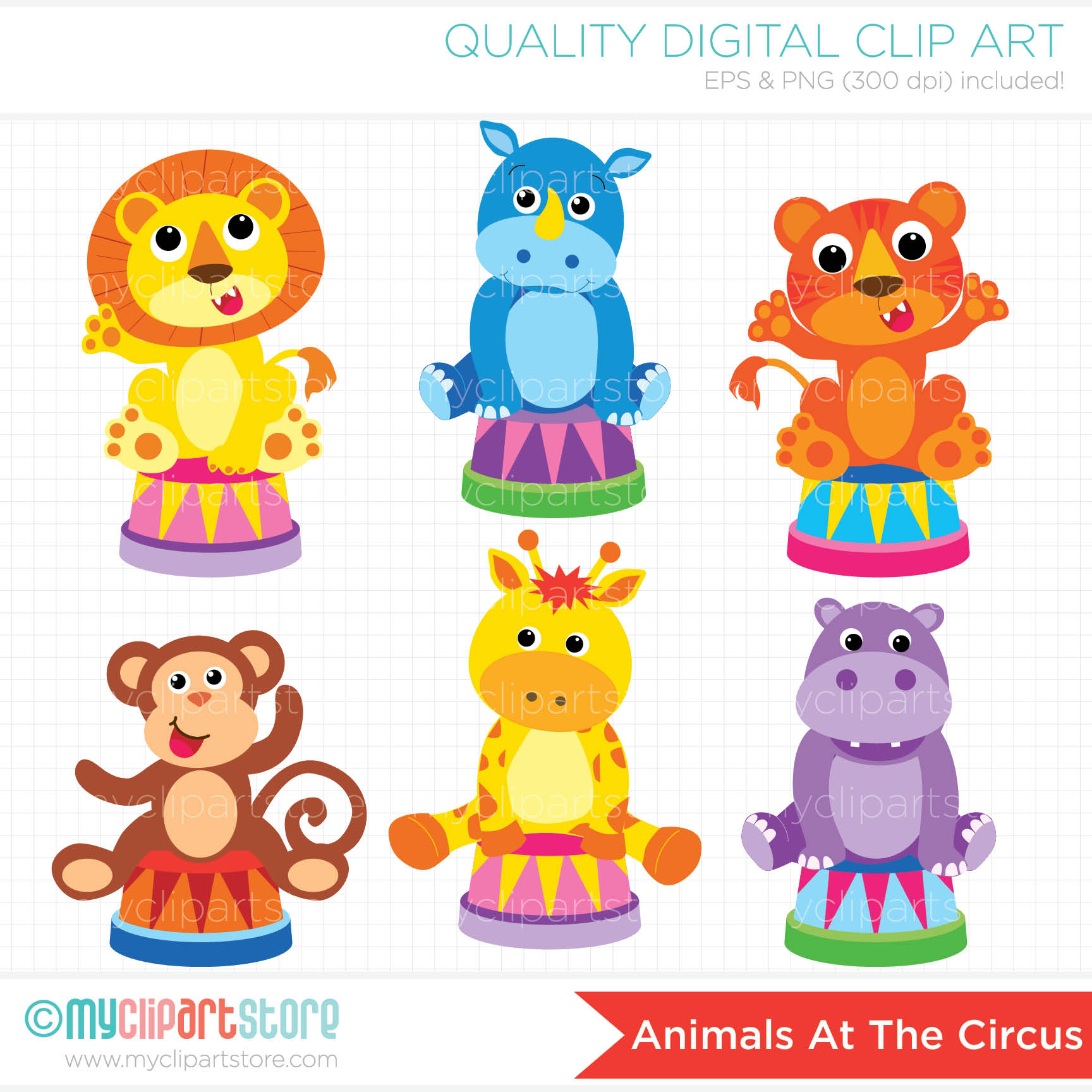 4685 Circus free clipart.