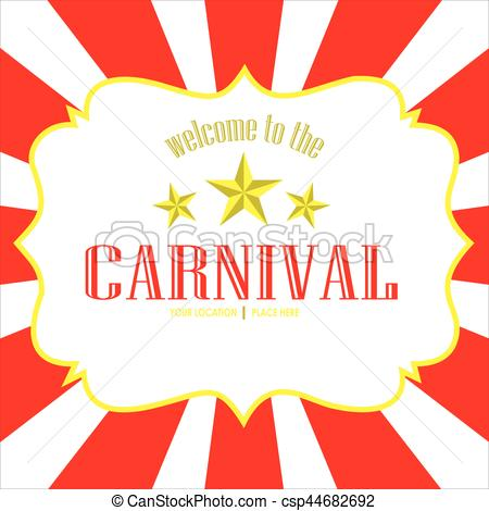 vector image carnival background.