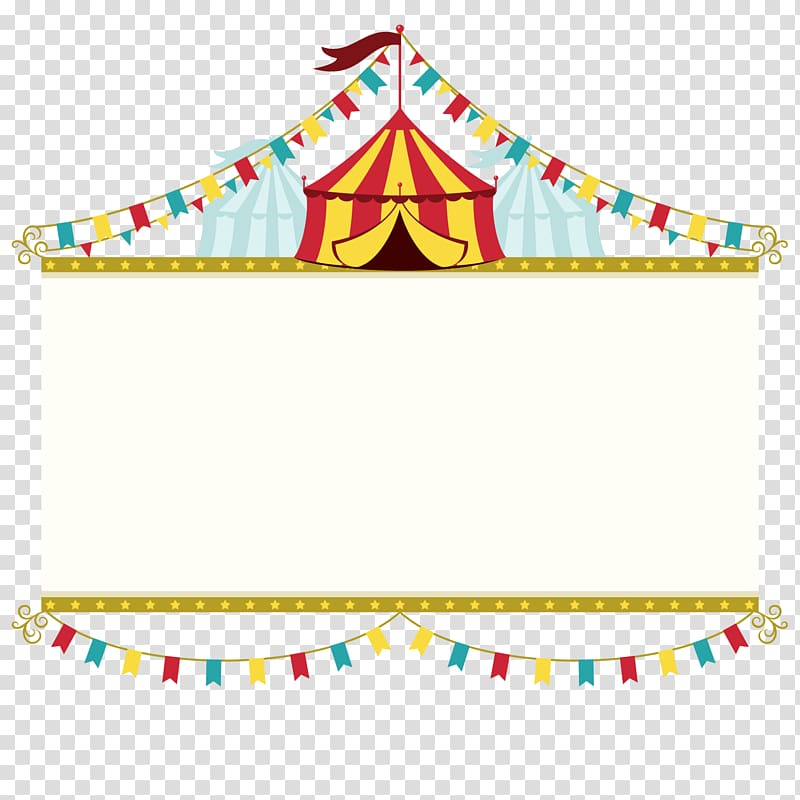 Carnival , Wedding invitation Circus Poster Banner, Circus brand.