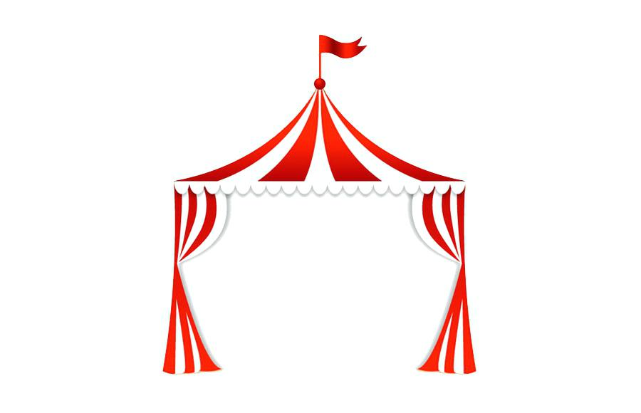 Carnival Tent Clipart Clip Art Clown Royalty Free Ideal Favorite 3.